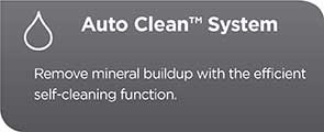 Auto Clean System | Remove mineral buildup with the efficient self-cleaning function CM4200S